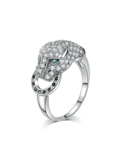 Luxury Western Style Zircons Hot Selling Ring