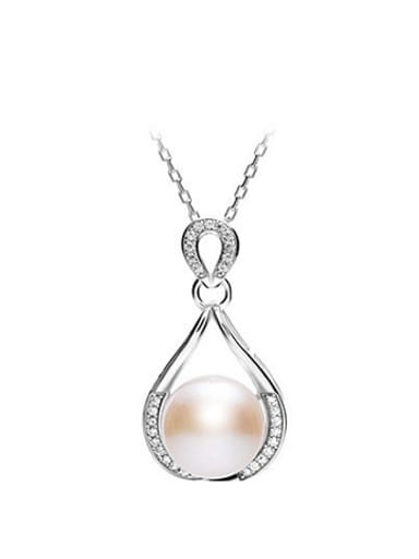 Freshwater Pearl Water Drop shaped Necklace