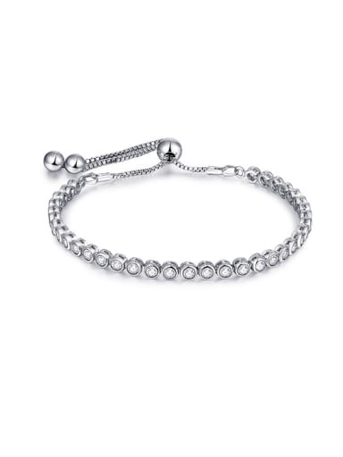 Round Shaped Zircon Bracelet