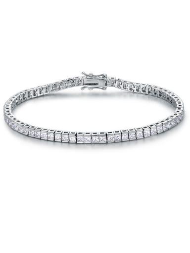 Square Zircon Bracelet