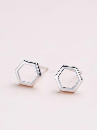 Women Delicate Geometric Shaped stud Earring