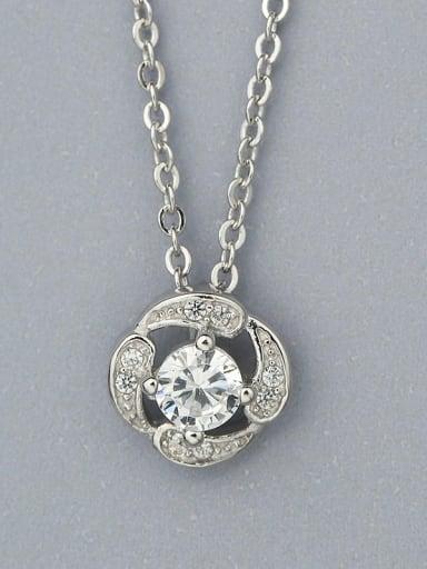 Delicate Zircon Necklace