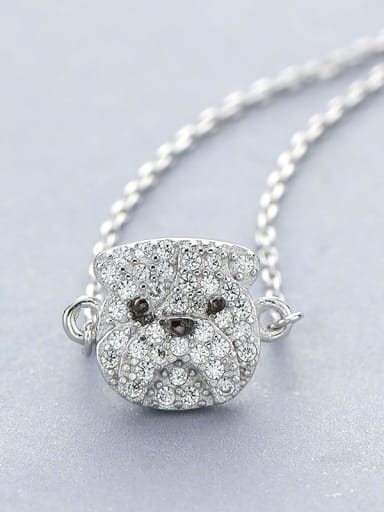 925 Silver Dog Necklace