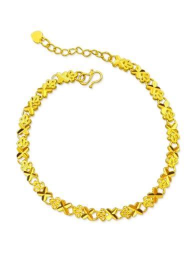Adjustable Length Clover Shaped Necklace