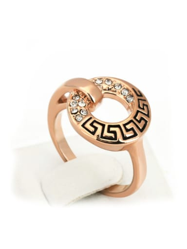 Retro Style Personality Creative Copper Ring