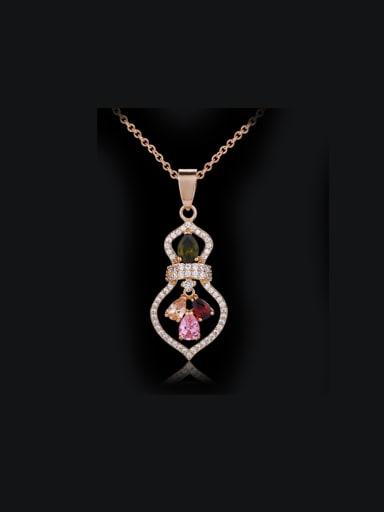 2018 Fashionable Calabash Shaped Necklace