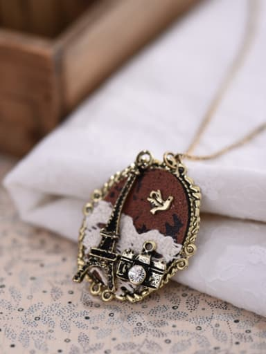 Exquisite Oval Shaped Women Necklace