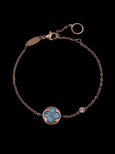Exquisite Turquoise Round Accessories Three Pieces Set