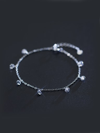 S925 Silver  Sweet Fashion Simple Bracelet