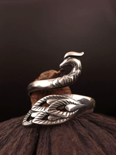 New Design Phoenix Opening Statement Ring