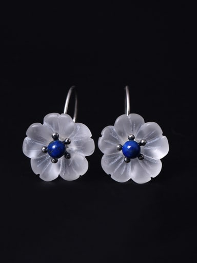 Temperament Plum Blossom Crystal earring