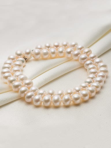 2018 Round Freshwater Pearls Necklace