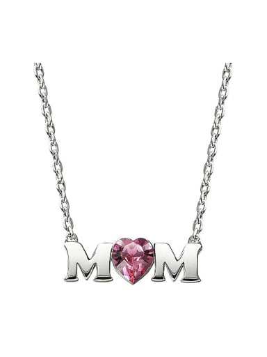 S925 Silver Letter-shaped Necklace