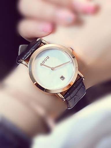 2018 GUOU Brand Simple Women Watch
