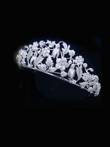 Zircons Retro Style Western Wedding Hair Accessories