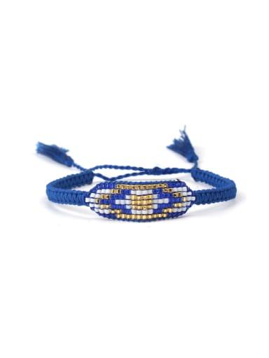 Simple Style Women Color Woven Bracelet