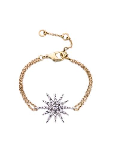 Star Pendant Ladies Bracelet