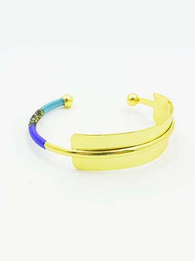 Women Open Design 16K Gold Plated Bangle