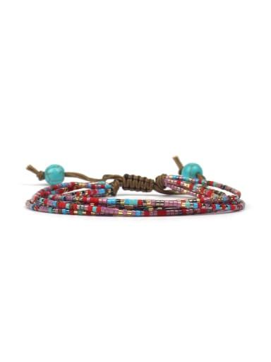 Retro Style Multi-layer Woven Bracelet