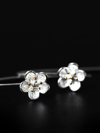 Plum Flower Women Hook hook earring