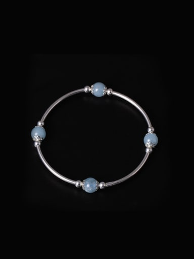 Simple Style Crystal Handmade Bracelet