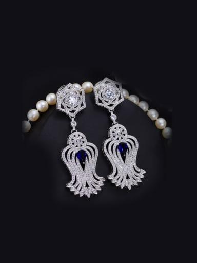 Evening Dress Accessories Drop Chandelier earring