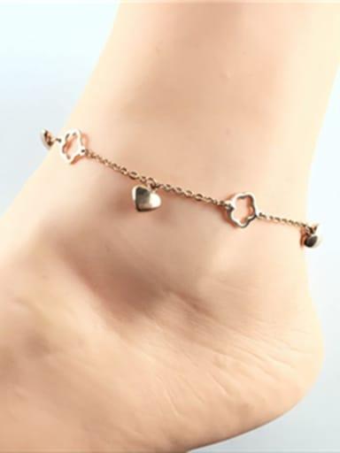 Fashion Accessories Women Titanium Anklet