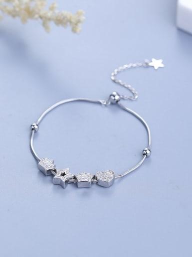 Women Elegant Star Shaped Bracelet