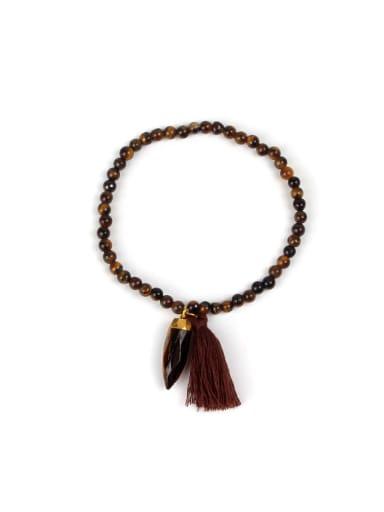 Bohemia Style Natural Stones Personality Women Bracelet