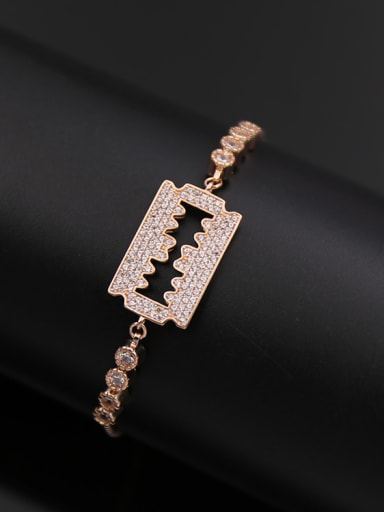 Razor shaped Stretch Bracelet