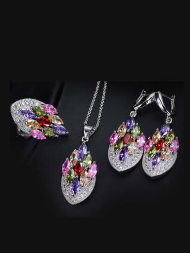Exquisite Luxury Wedding Accessories Jewelry Set
