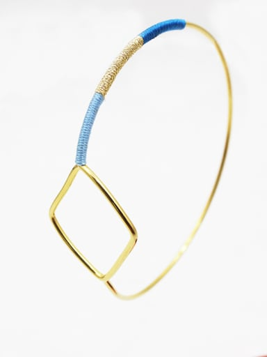 Fashion Hollow Geometric Shaped Wrap Bangle