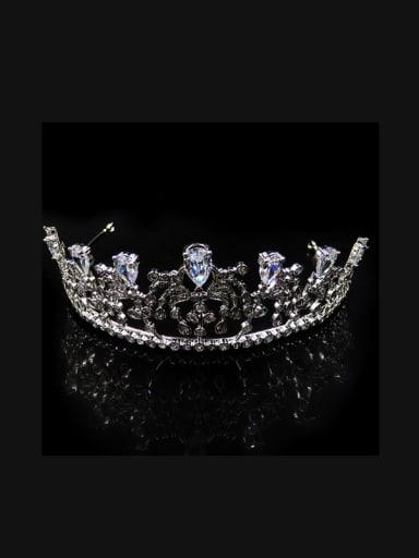 Bride's Crown Princess Royal Crown Wedding Dress Hair Accessories
