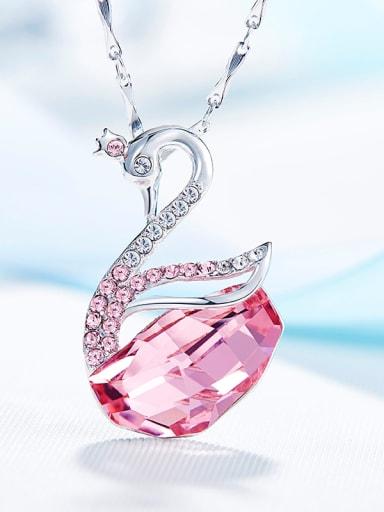 Swarovski Crystals Swan-shaped Necklace