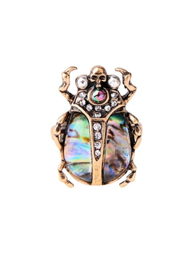 Retro Western Style Insect Shaped Alloy Ring