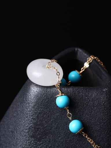White Jade Fashion Women Bracelet