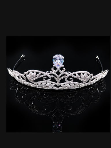 Wedding or Party Micro Pave Zircons Hair Accessories