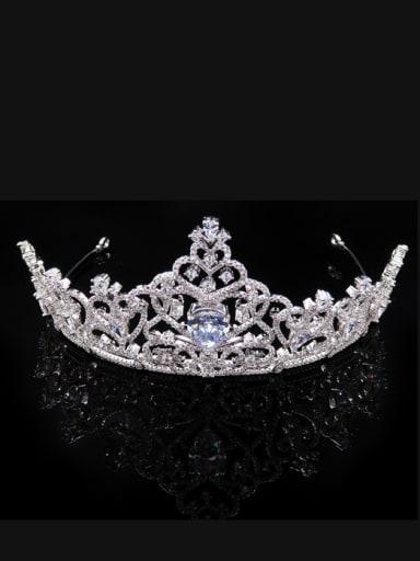 New Bride's Birthday Air Crown  Wedding Hair Accessories
