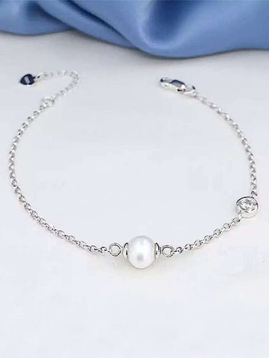 Simple Freshwater Pearl Bracelet