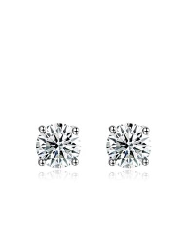 Elegant Creative Shining Zircons Stud Earrings
