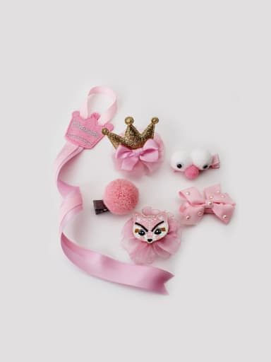 Wish children's hair clips set, 60903 baby all wrapped cloth, Hair clip, crown, birthday suit, baby Hair clip