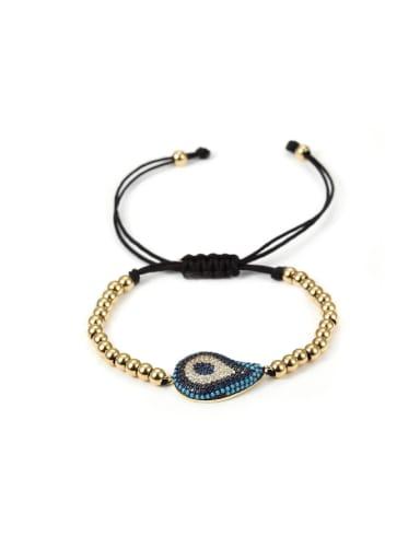 Stainless Steel Zircon Drop Bracelet