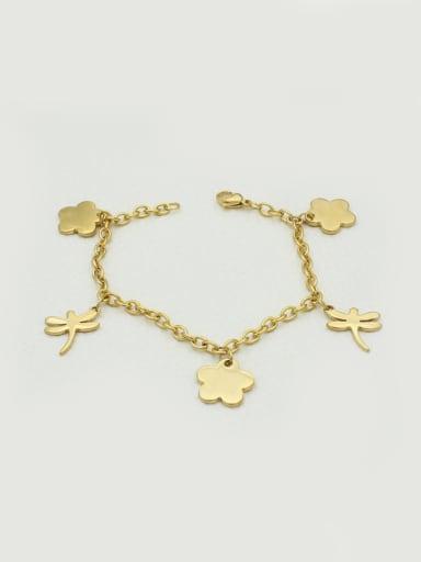 Dragonfly Flower -shaped Women Bracelet