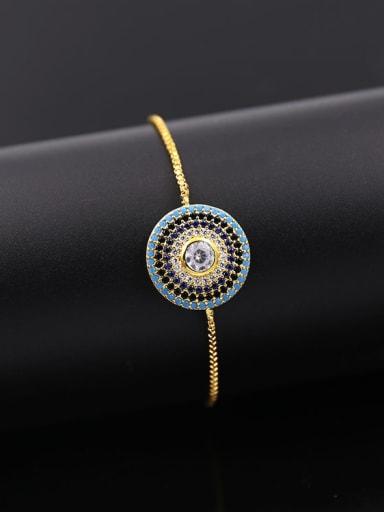 2018 Round Shaped Copper Bracelet