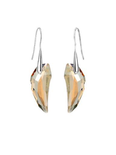 S925 Silver Swarovski Crystal hook earring