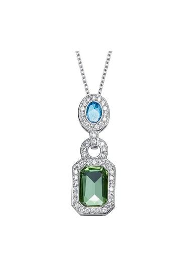 Simple Crystals Zircon Necklace