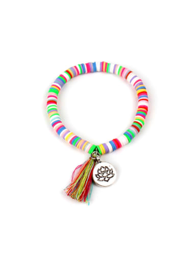 Personality Simple Clay Stretch Bracelet