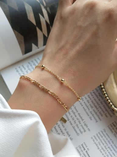 Sterling silver gold plated Bracelet