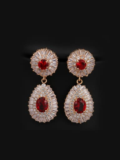 Water Drop High Quality Cluster earring