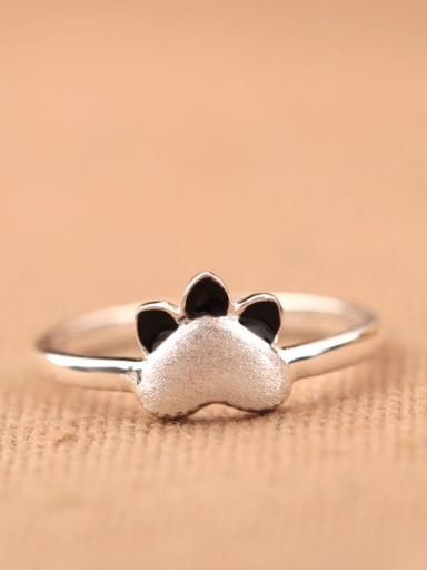 Cat Claw Opening Silver Ring